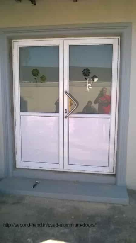 Second hand Aluminium Doors