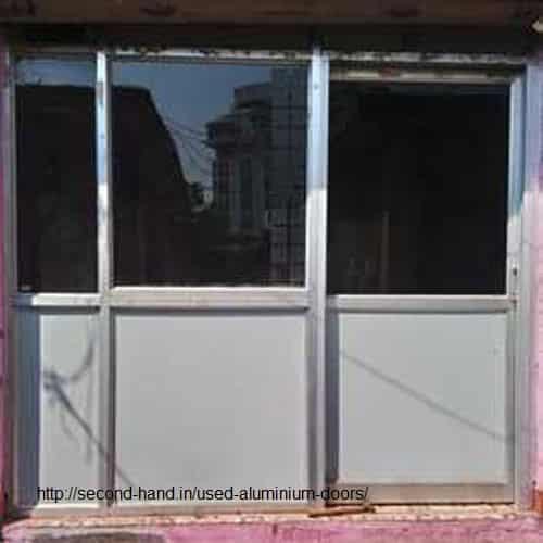 Used Aluminium Doors for sale