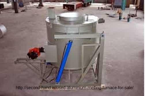 Used Aluminium Melting Furnace for sale