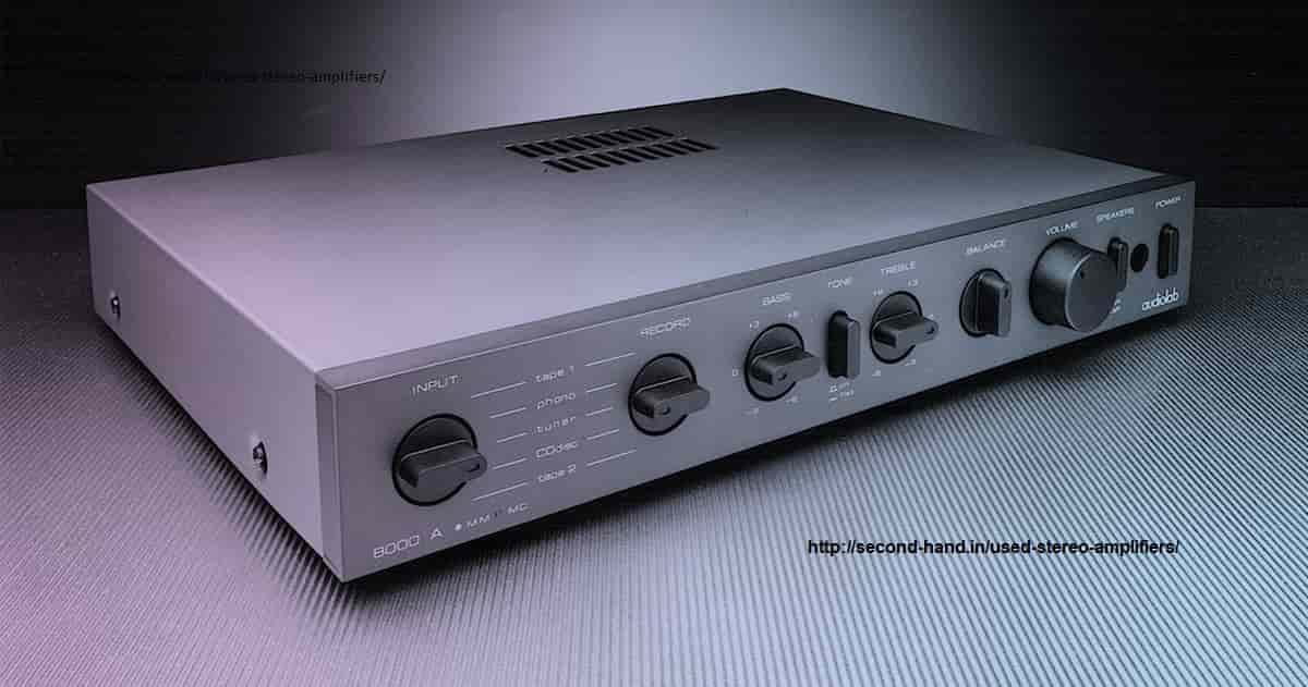 Used Stereo Amplifiers for sale
